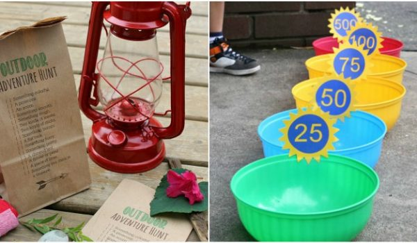 16 of the Funnest Camping Games for Kids