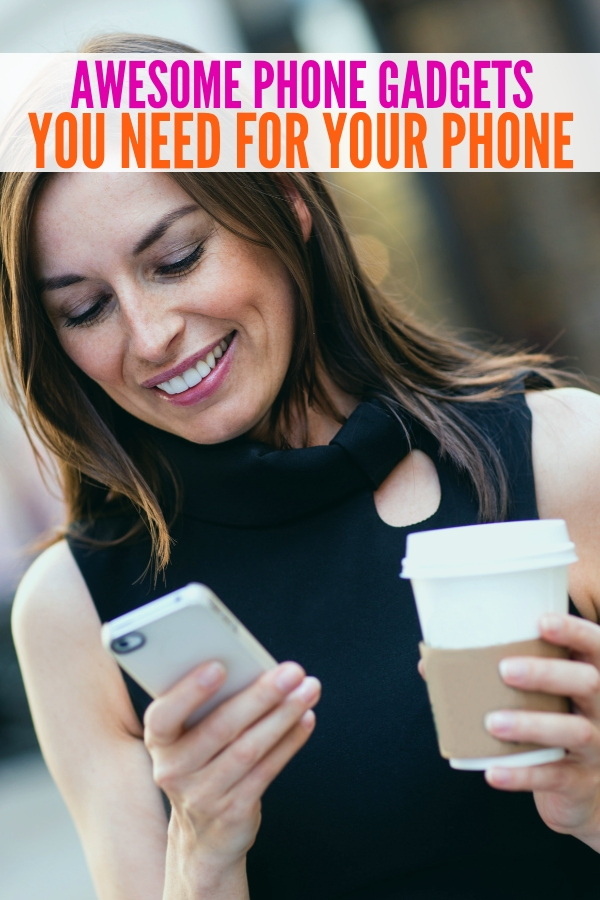 Looking for some awesome gadgets for your phone? Look no further than these great options! All of them can be found online with ease. #awesomegadgetsforyourphone #cellphone #accessories #onecrazyhouse
