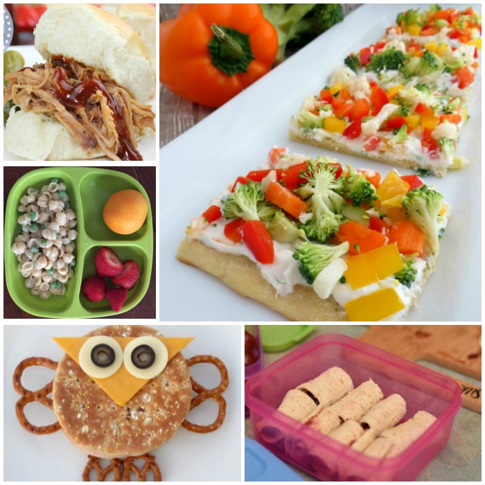 10 Sandwich-Free Kids' Lunch Ideas Or, you know, sandwich-free lunch ideas for anyone. Because I don't know anyone who, deep down, doesn't want food on a stick at some point.