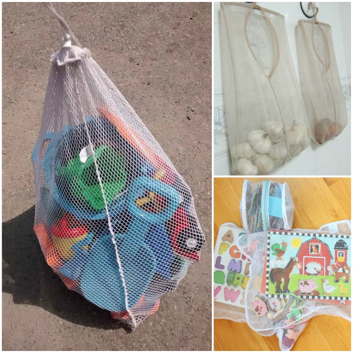 Ways To Use Mesh Laundry Bags