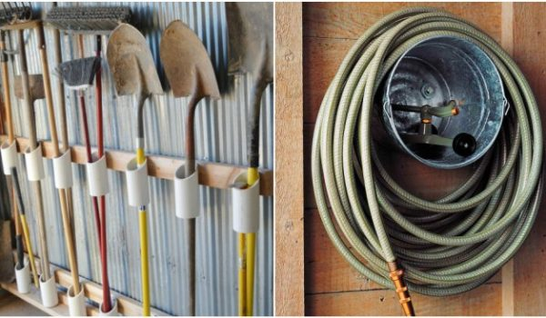 16 Genius Garden Tool Organization Ideas