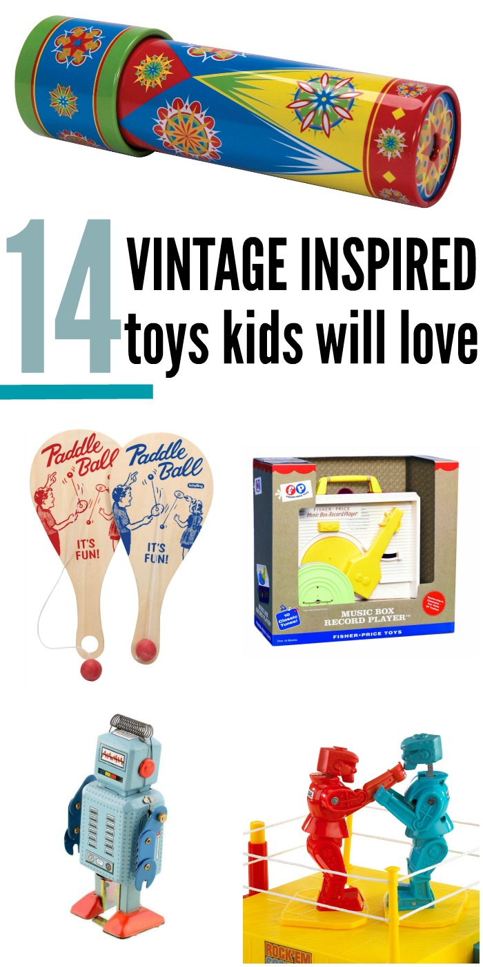 Best vintage toy gift ideas - sure to bring back memories AND you can gift these classics to your kids!