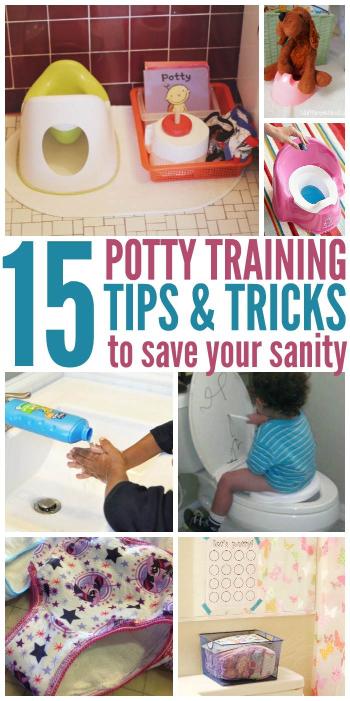15 Potty Training Tips to Save Your Sanity