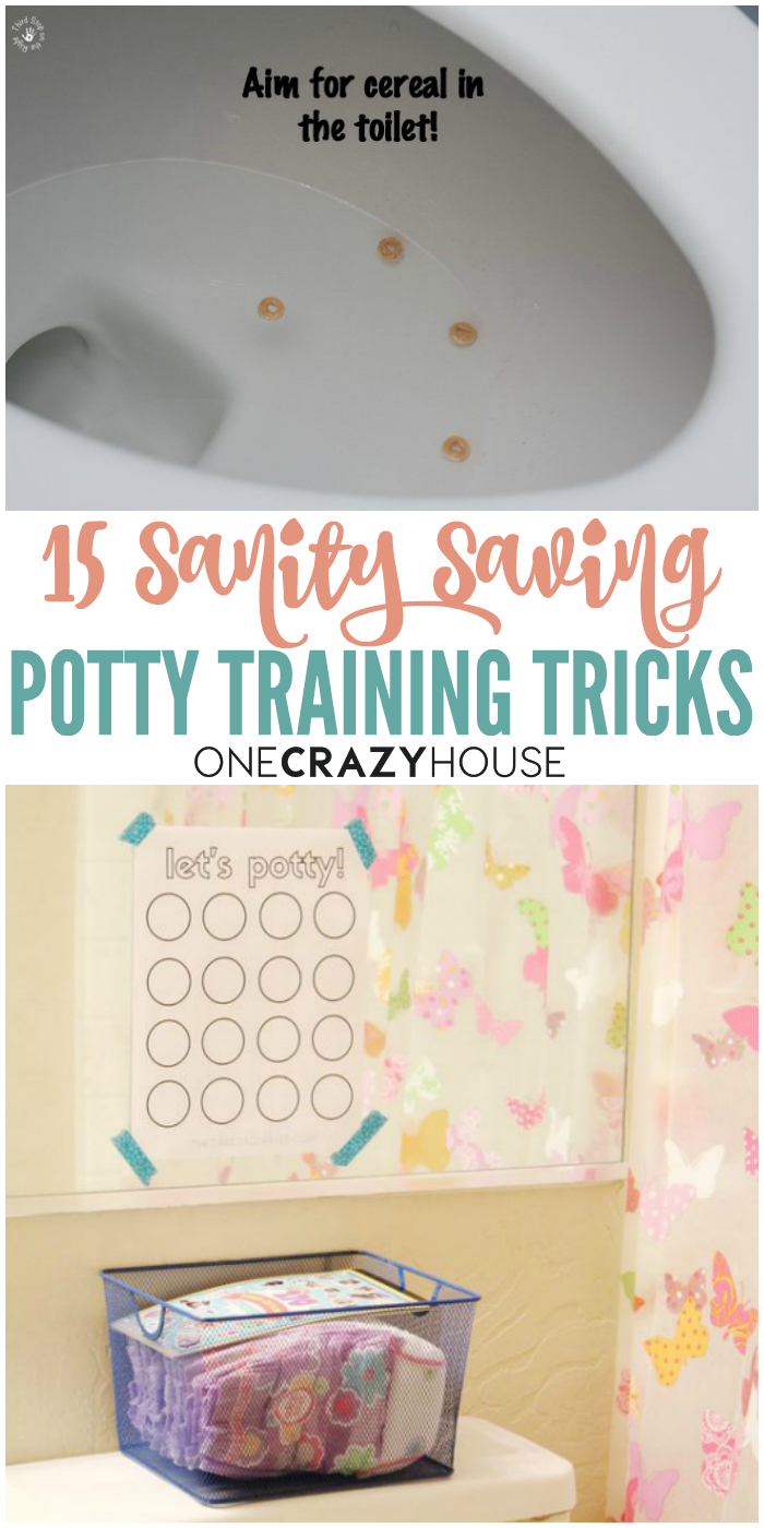 Are you dealing with potty training? Here are 15 sanity-saving potty training tips that are perfect for you.