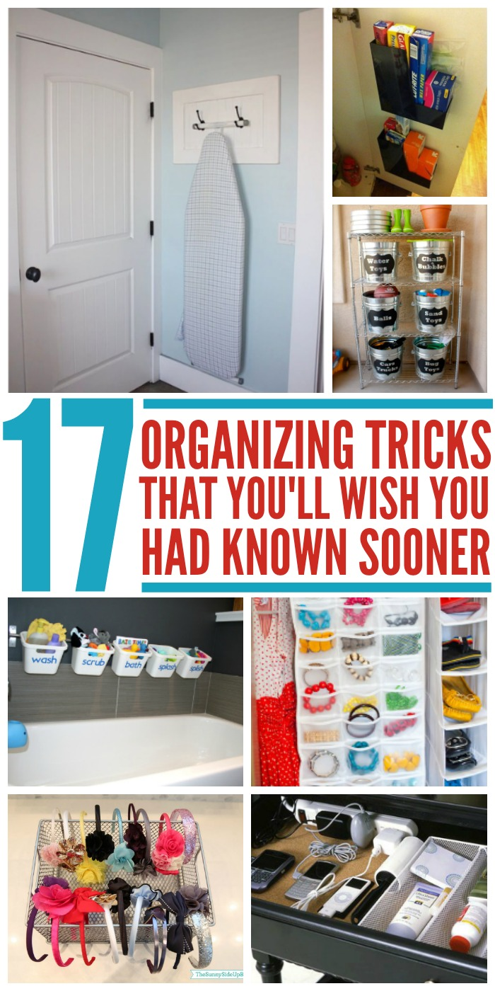 17 Clever Organizing Tricks You'll Wish You Knew Sooner