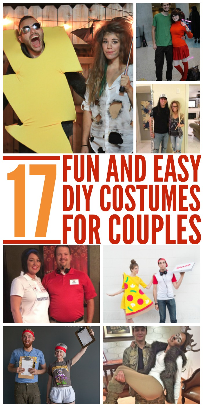 17 DIY Couples Costumes