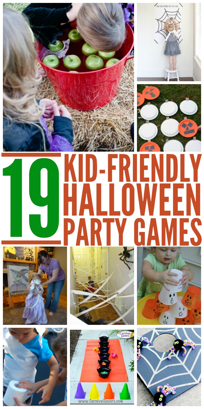 19 Kid Friendly Halloween Party Games