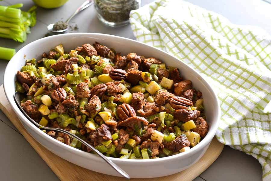 21 day fix apple pecan stuffing