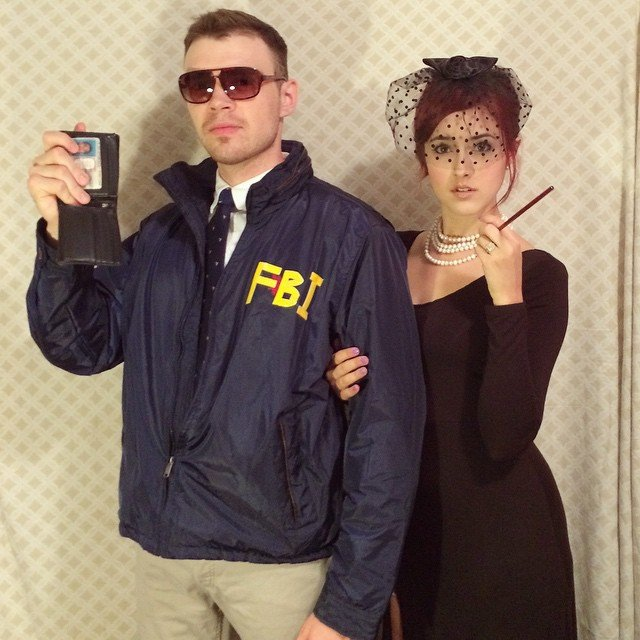Burt Macklin and Janet Snakehole couples costume