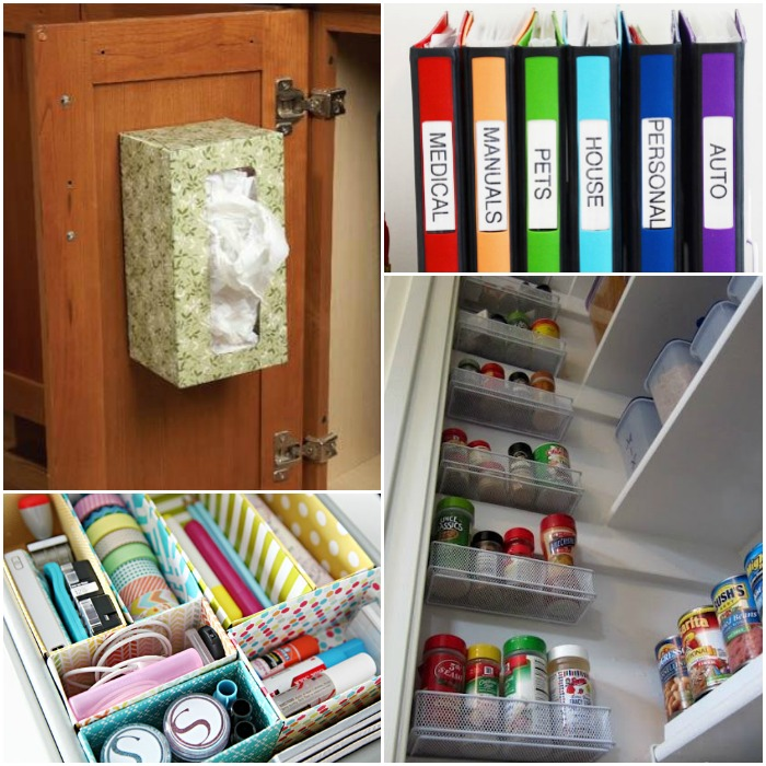 Clever Organizing Tips & Tricks for the Home