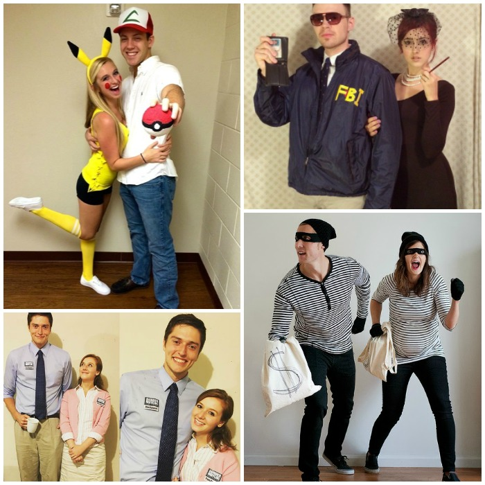 DIY Couples Costumes  sc 1 st  One Crazy House & 17 DIY Couples Costumes That Will WIN Halloween