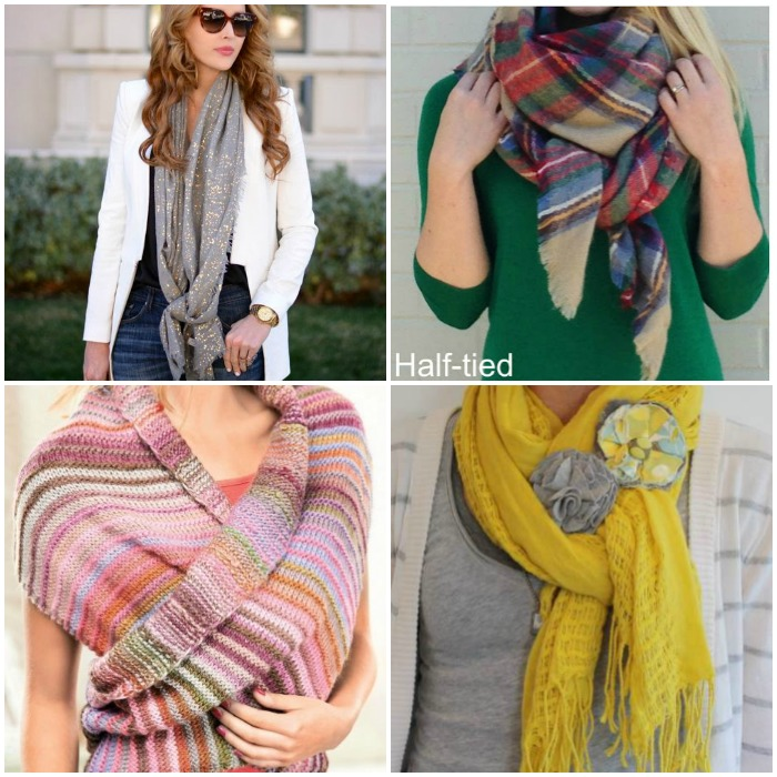 Image result for wearing scarves