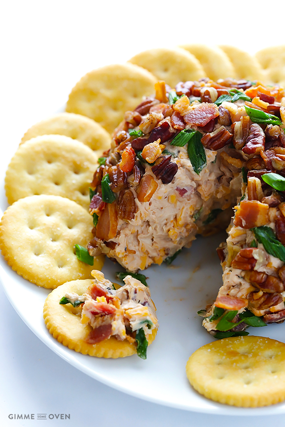 bbq bacon cheese ball