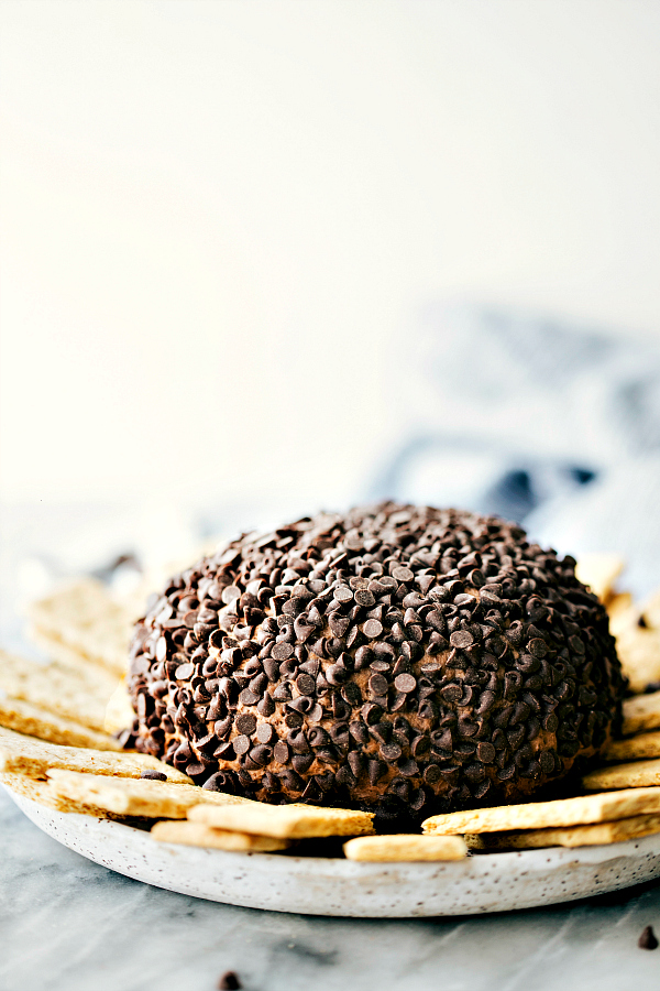 brownie batter cheese ball