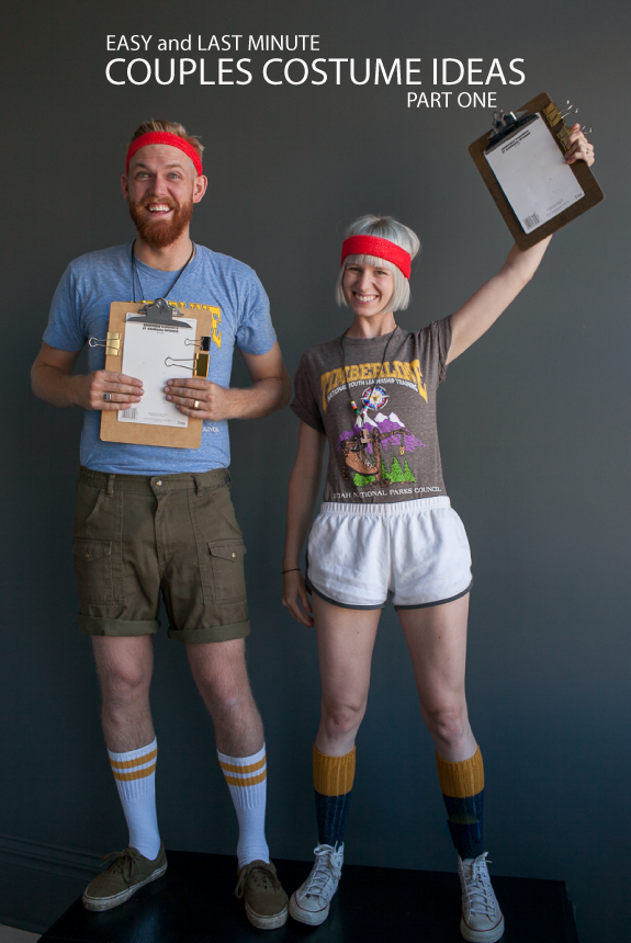 c& counselors costumes  sc 1 st  One Crazy House & 17 DIY Couples Costumes That Will WIN Halloween