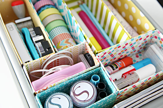 organizing tips tricks to decluttering desk drawers