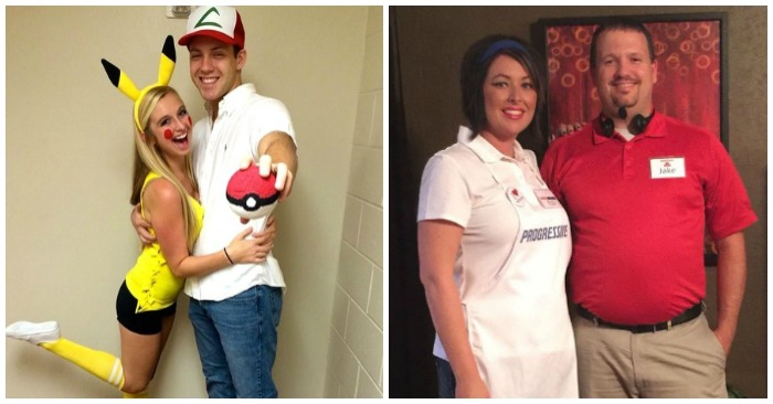 sc 1 st  One Crazy House & 17 DIY Couples Costumes That Will WIN Halloween