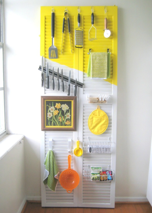door kitchen organizer