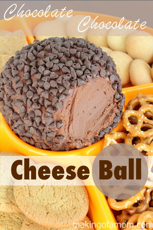 double chocolate cheese ball
