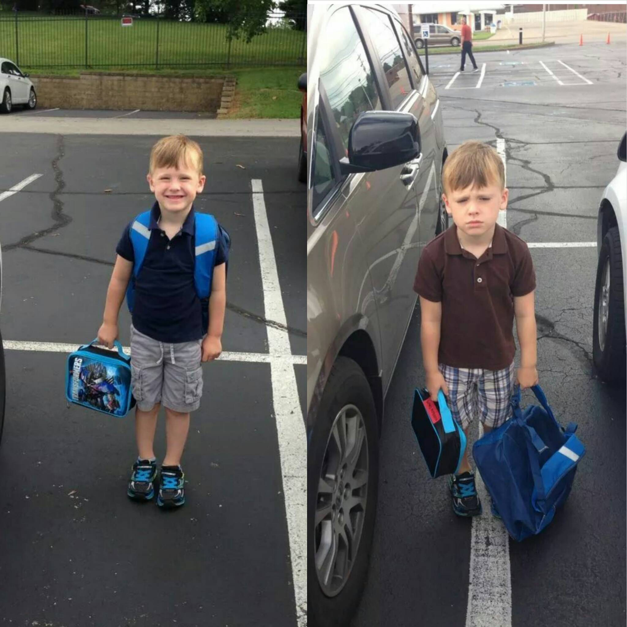 first day versus second day