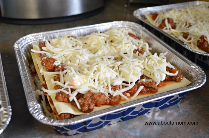 freezer dinner lasagna