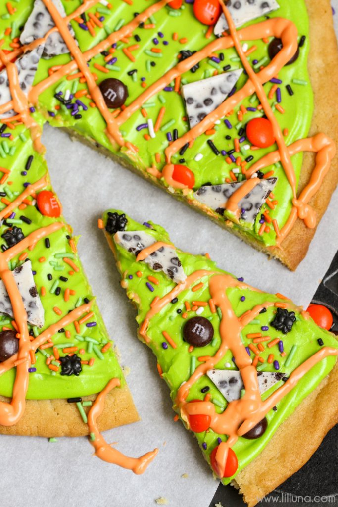 halloween sugar cookie cake