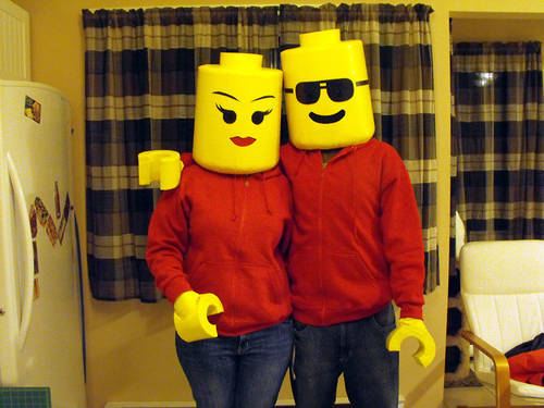 lego head costumes