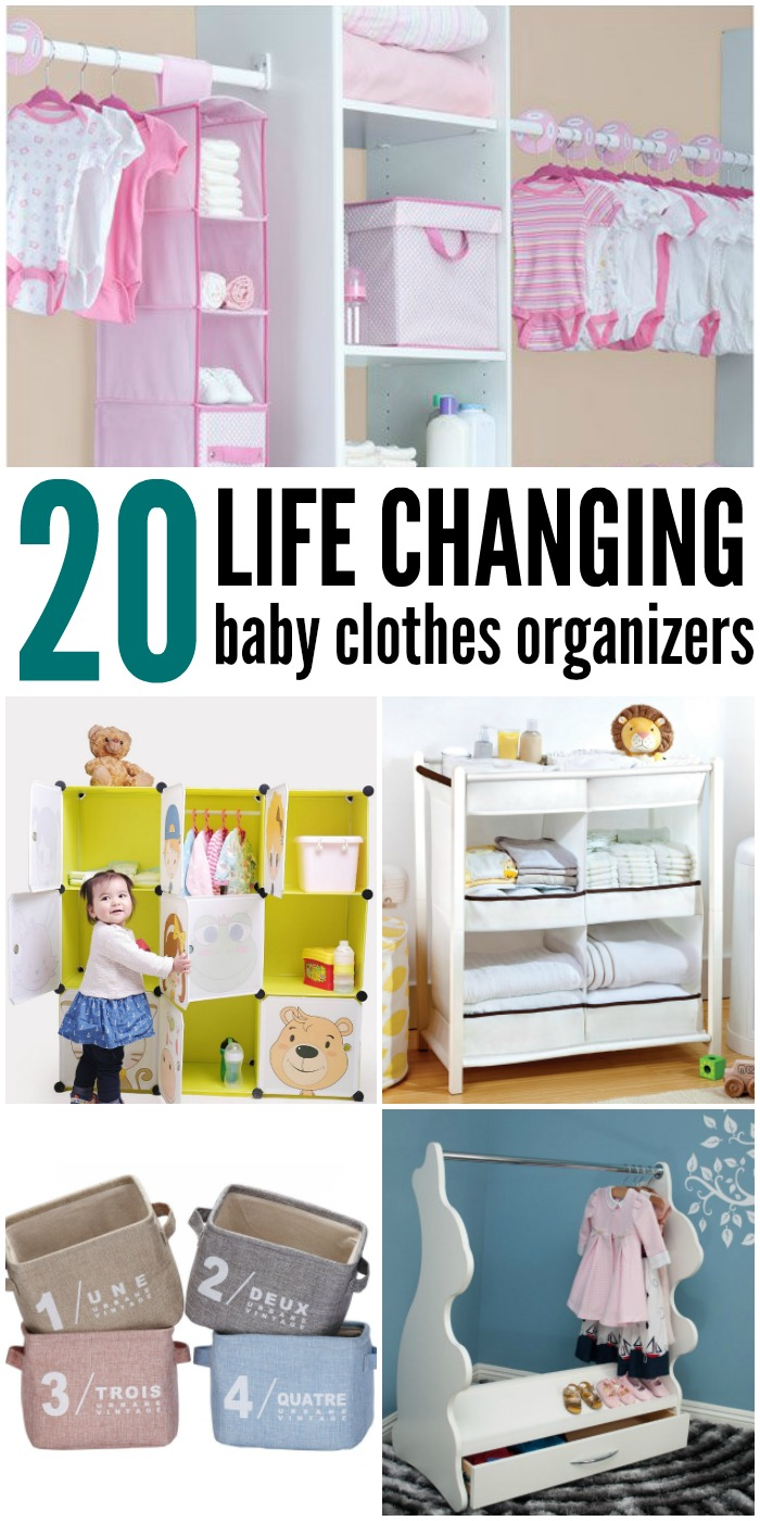 20 Organizing Mom Tips Use These Clothing Dividers For Baby Clothes