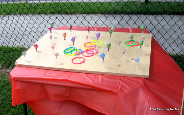 lollipop ring toss