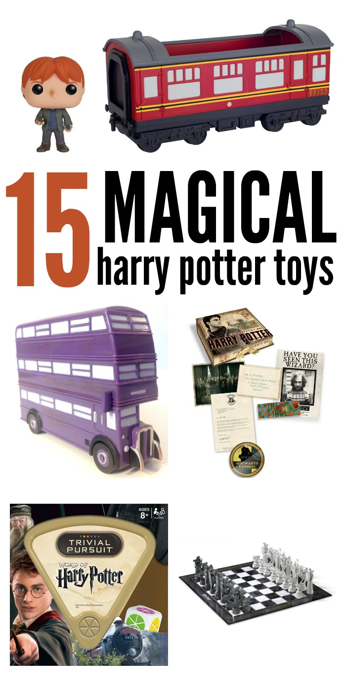 Do you have a Harry Potter fan on your gift list? Here are the most magical Harry Potter toys, from interactive to memorabilia.