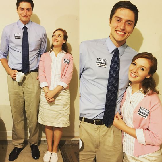 pam and jim costume