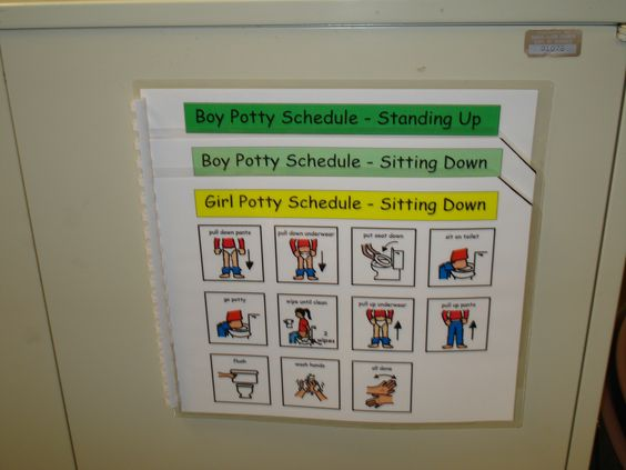 potty training visuals