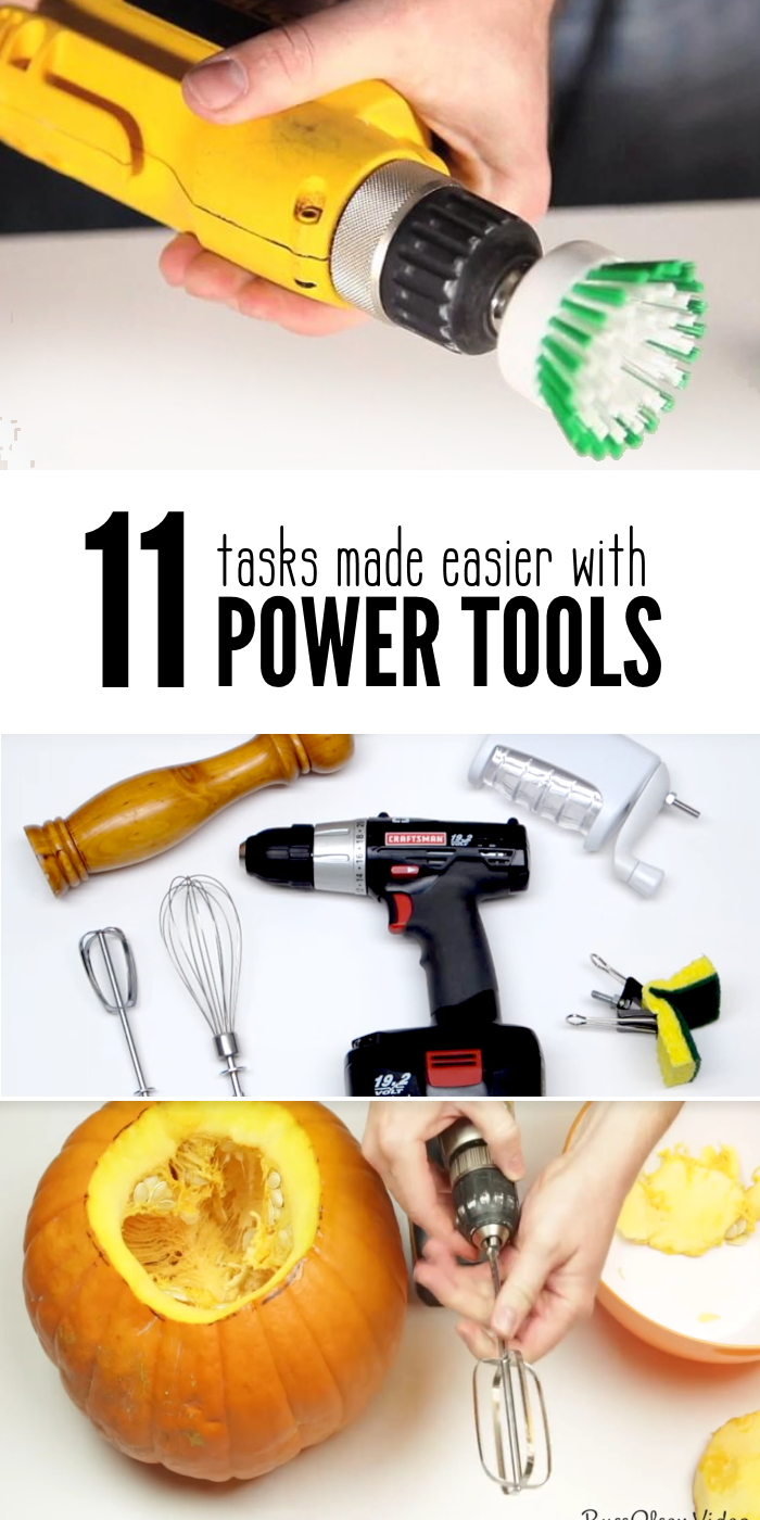 Uses for Cordless Power Drill