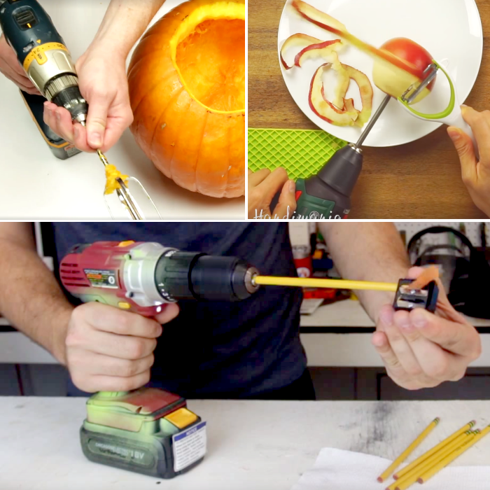 Ways to use power tools