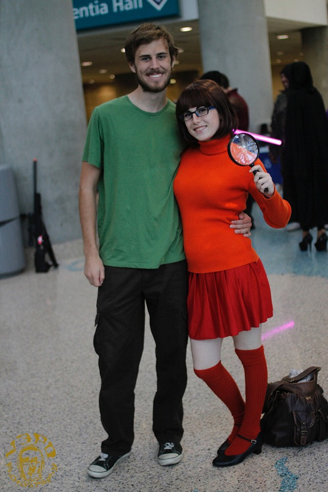 shaggy and velma