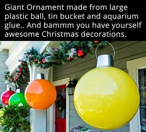 Clever DIY Christmas Decorations