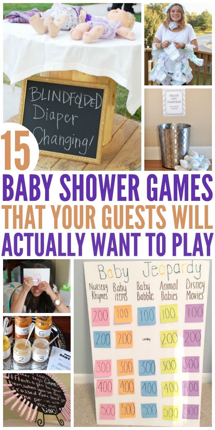 New Fun Baby 15 Shower Games Hilariously 874