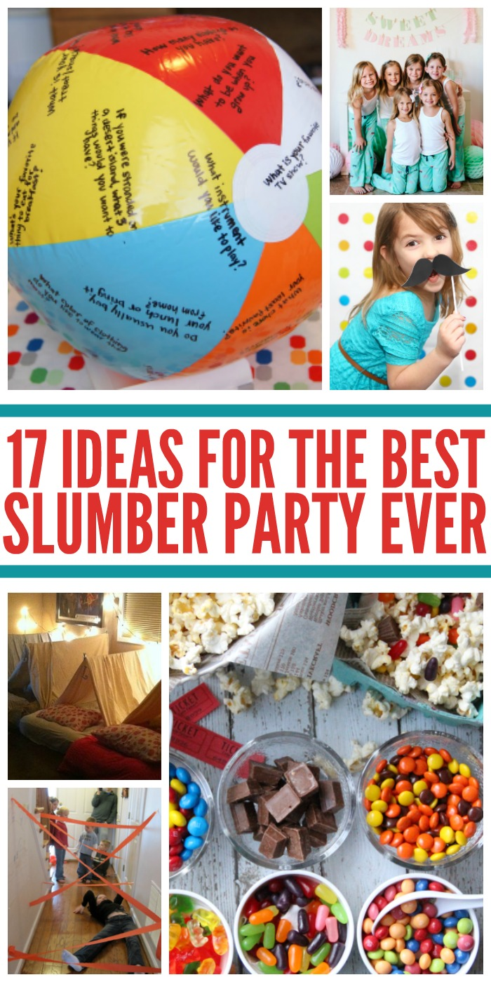 17 Best Ideas About Blue Eyes Pop On Pinterest: 17 Sleepover Ideas For The Best Slumber Party Ever