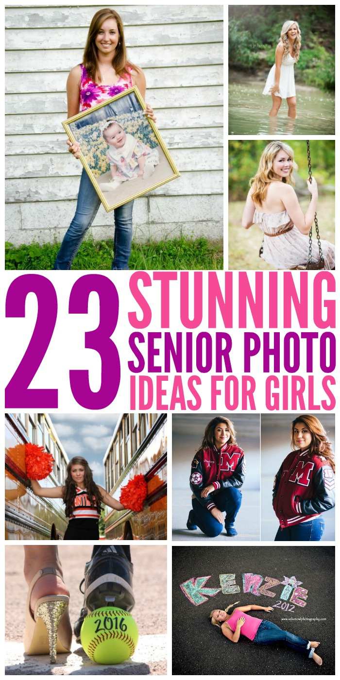 23 Gorgeous Senior Photo Ideas for Girls