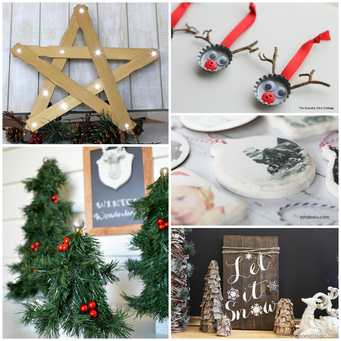 18 clever homemade christmas decorations for Diy christmas decorations for your home
