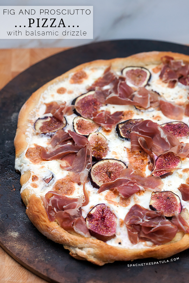 Fig and Proscuitto Pizza