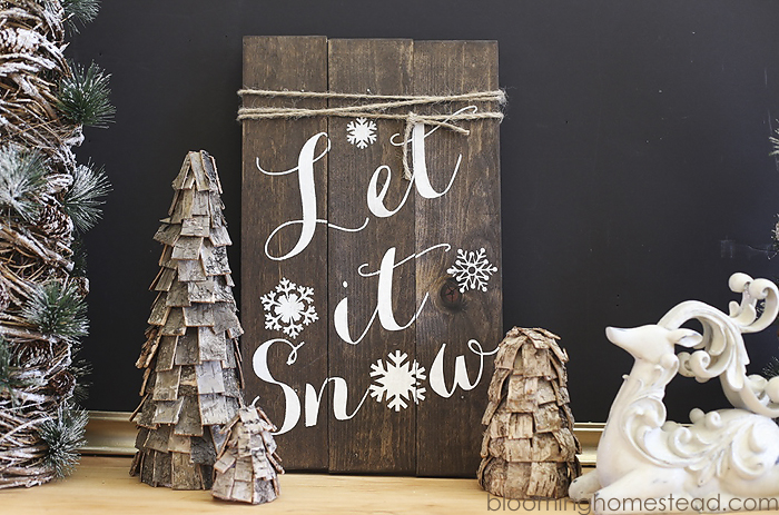 DIY Rustic Trees | Blooming Homestead