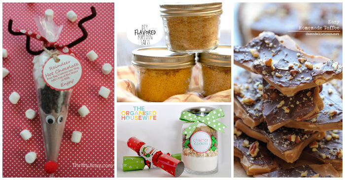 Yummy and Easy DIY Gift Ideas
