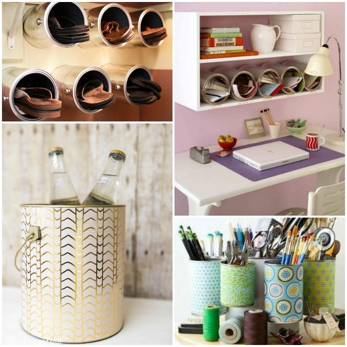 15 pretty and practical ways to reuse paint cans