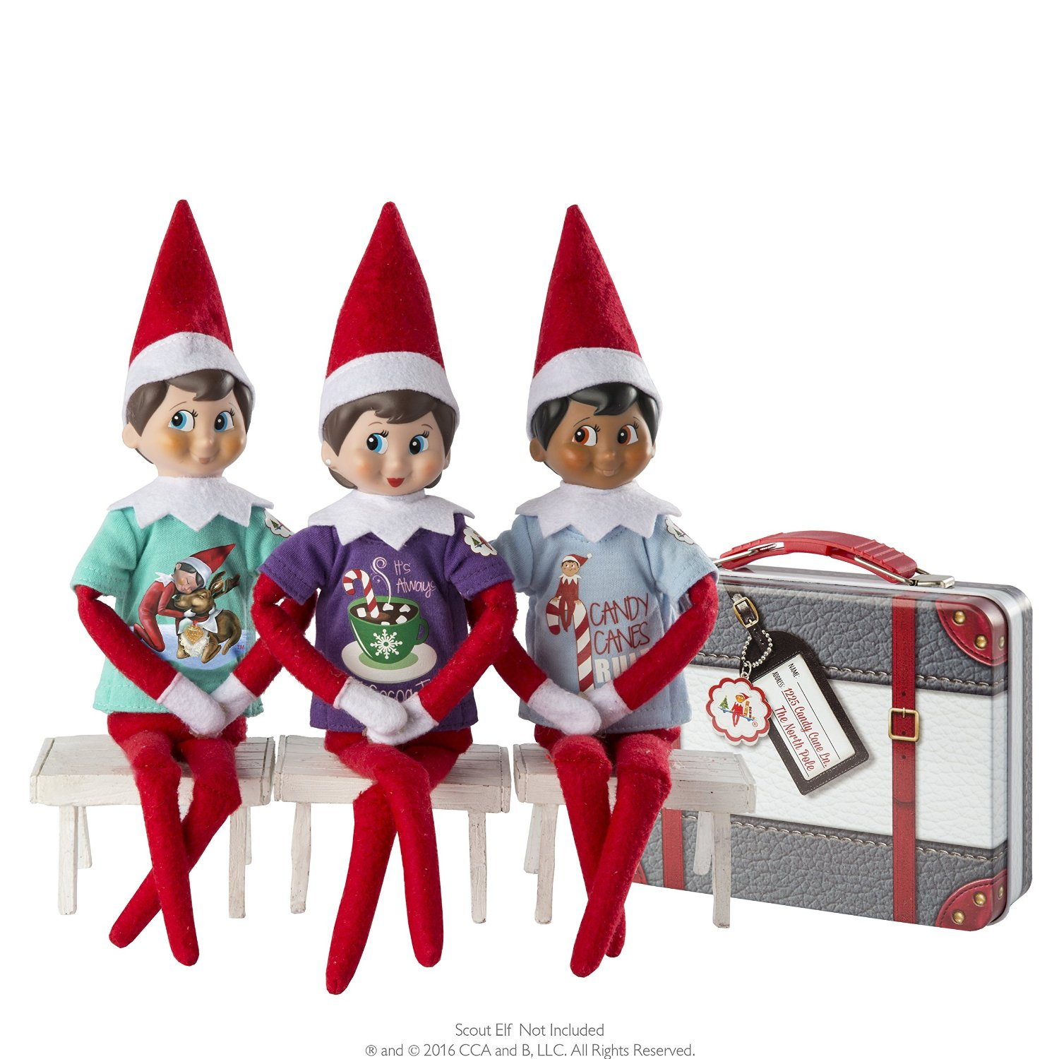 Elf on the Shelf Accessories | www.theonecrazyhouse.com