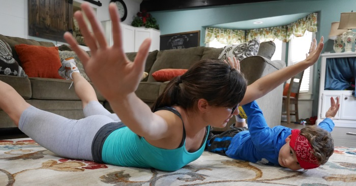 Mommy Workout Ideas (and Post Work-Out Treat)