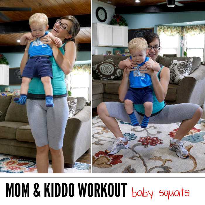 workout ideas for moms with their kids