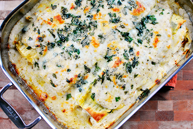 white-cheese-and-chicken-lasagna