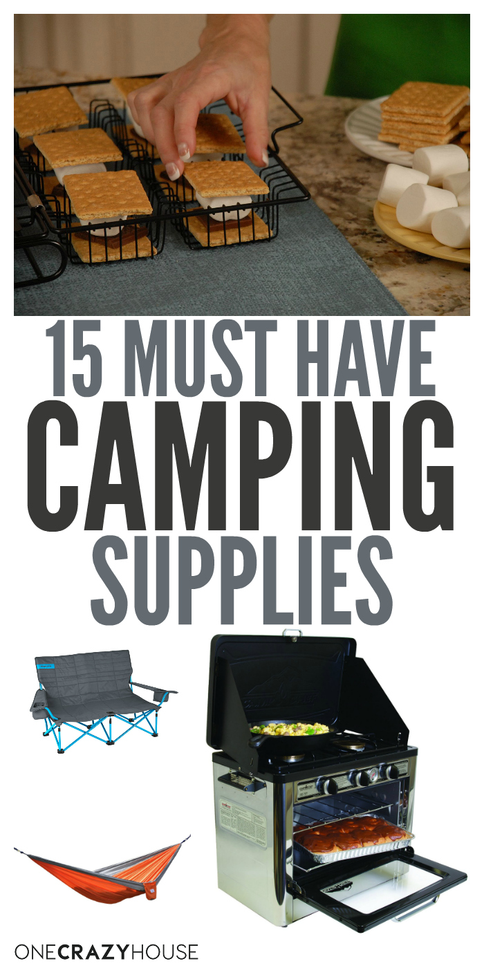 Love to go camping? Looking to up your camping game? These must have camping supplies will make your next trip the best yet!