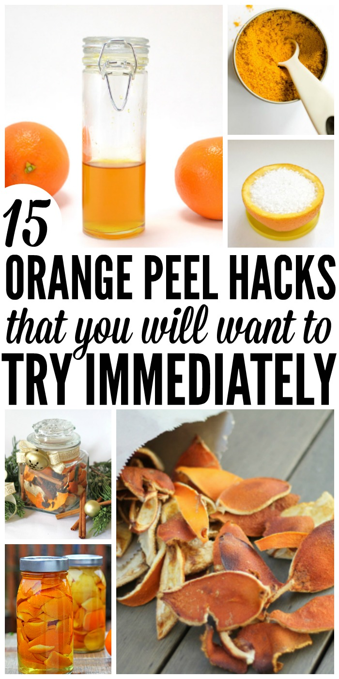 Here are 15 orange peel uses you need to try immediately!